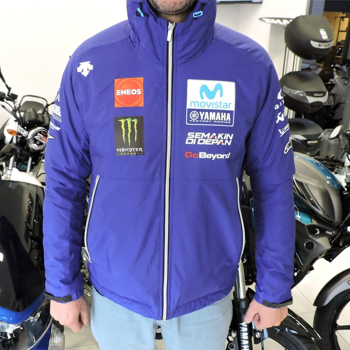 ropa deportiva de alto rendimiento últimos lanzamientos precios grandiosos Campera De Abrigo Yamaha Official Motogp 2018 Descente Brm