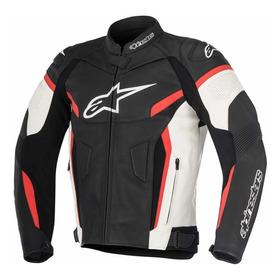Campera De Cuero Moto Alpinestars Gp Plus R V2