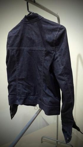 campera de jean con brillitos