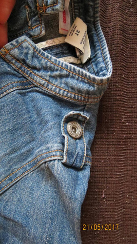 campera de jean de nena 3 años de usa marca cherokee