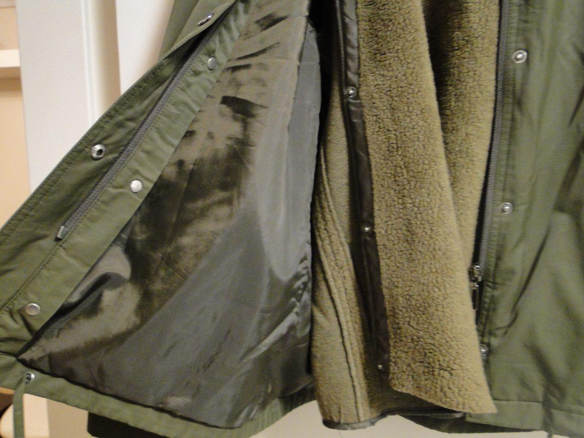Camperas de abrigo mujer zara