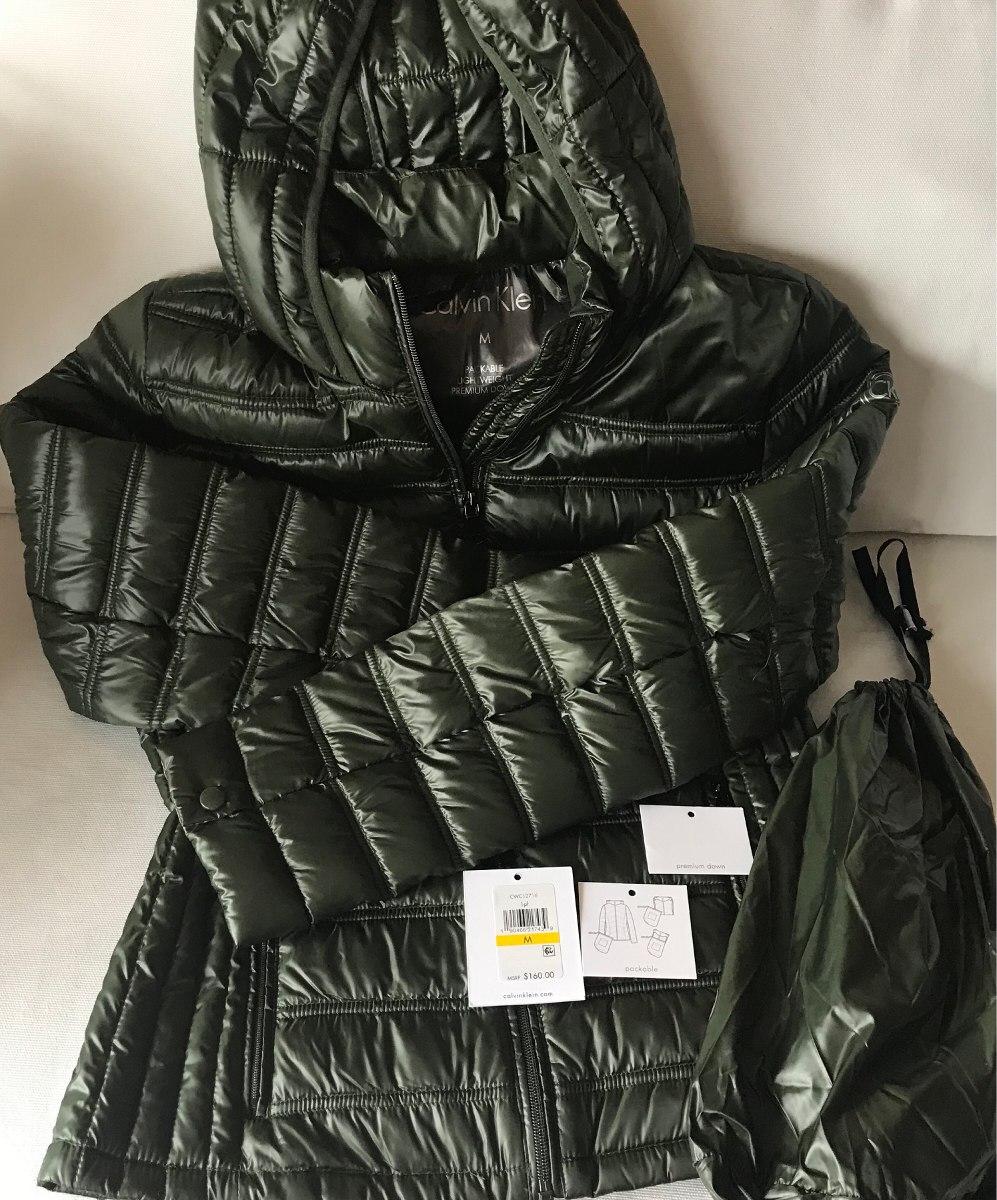 Campera M Premium De 900 Plumas En Klein 2 Nueva 00 Calvin Mujer r0Srq4xwC