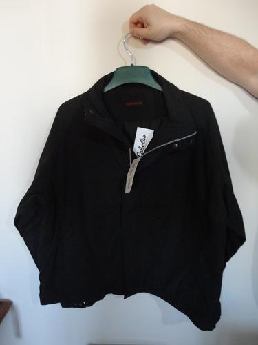 campera de vestir negra super delicada al tacto