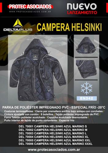 campera deltaplus reforzada d trabajo p/muy baja temperatura