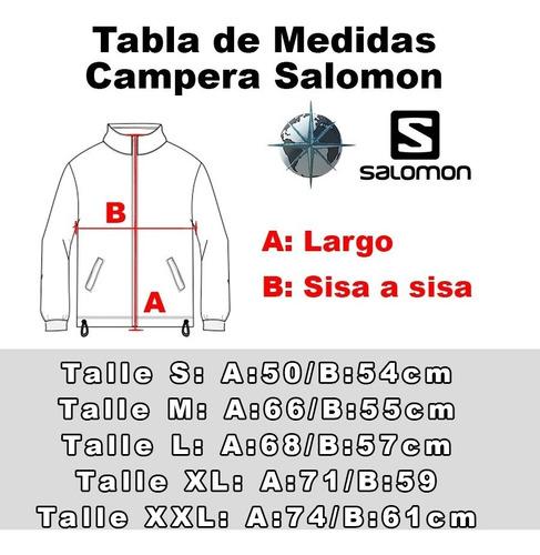 campera deportiva salomon modelo discovery fz local palermoº