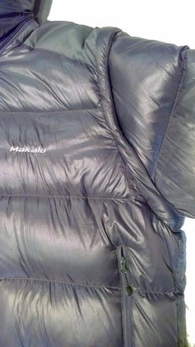 campera duvet aconcagua desmontable - marca makalu