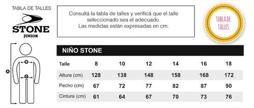 campera ecocuero unisex stone jr
