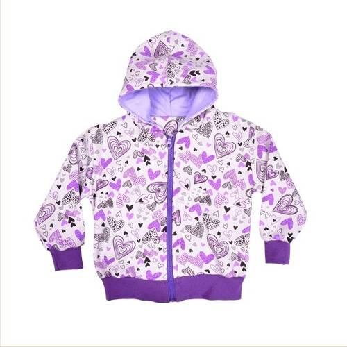 campera frisa risata 12-18m, 2 y 6 años little treasure