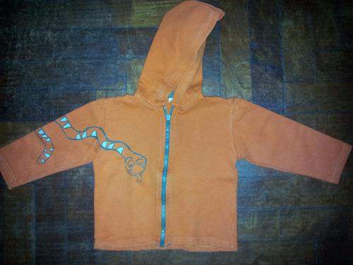 campera friza liviana naranja serpiente canchera hago envios