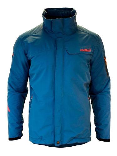 campera hombre impermeable gore-tex con abrigo ansilta terra
