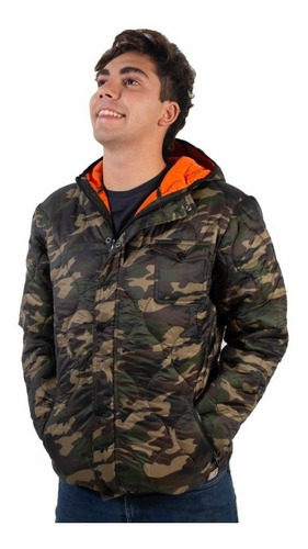 campera hombre rusty kabul militar invierno(único talle xxl)