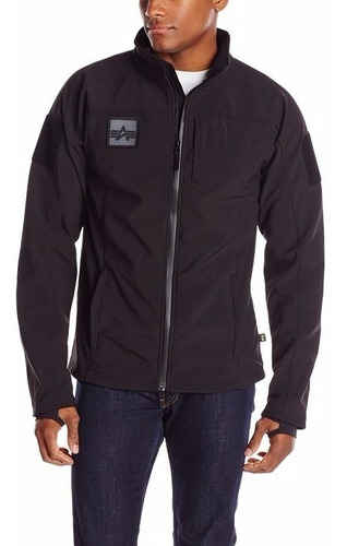 campera hombre tactica policial softshell alpha industries