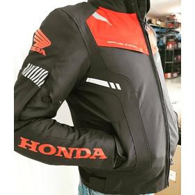 Campera Honda Oficial C/ Protecciones E Interior Desmontable