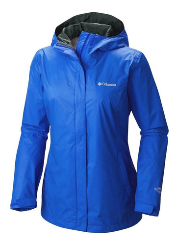 campera impermeable columbia arcadia mujer rompeviento