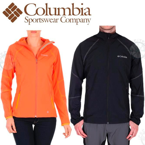 campera impermeable columbia softshell windprof 2014 palermo