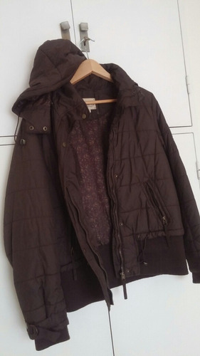 campera impermeable. d mujer