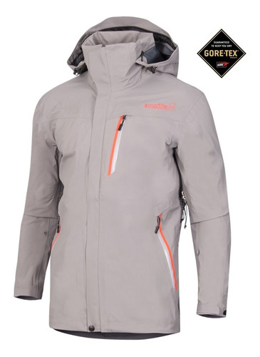 campera impermeable hombre ansilta avant 3 para ski gore-tex