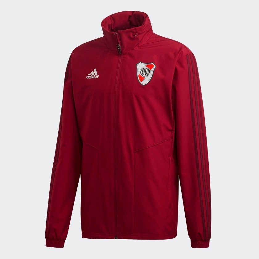 Campera Impermeable River Plate adidas Original 2019 2020