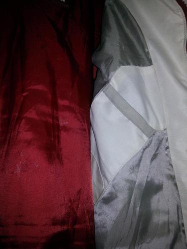 campera impermeable y abrigo