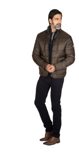 campera inflable con bolsillo interno hombre macowens