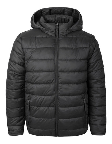 campera inflable corderito capucha desmont impermeable parka