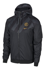 Nike Inter Milan Pirelli Pullover Hoodie Black 2019 2020