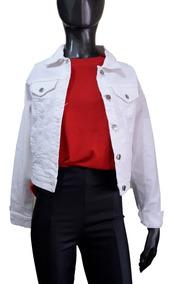 687ac06f3 Campera Jeans Elastizada White- St. Marie Ultima Tendencia