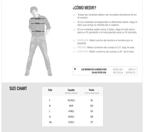 campera jeans lee 101-p denim jacket