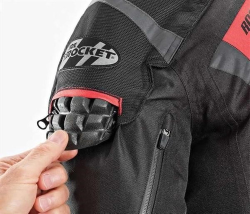 campera joe rocket 5.0 roja xxl con protecciones térmica av