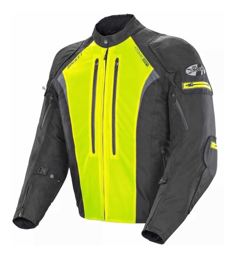campera joe rocket atomic 5.0 amarilla yamaha mt proteccion