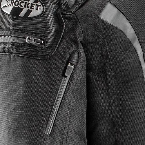 campera joe rocket atomic 5.0 cordura con proteccion top rac