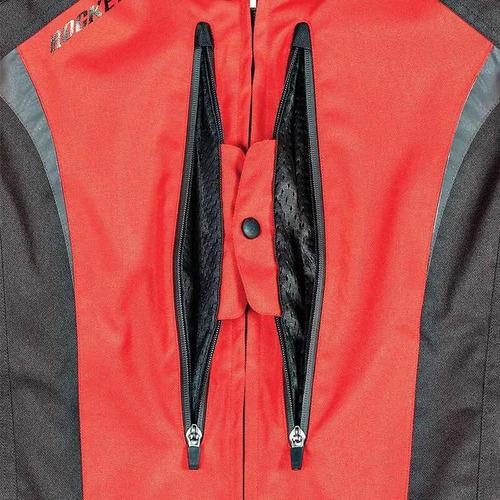 campera joe rocket atomic 5.0 cordura roja honda protección