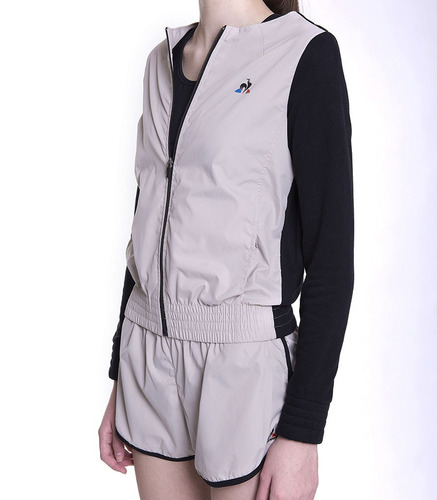 campera le coq sportif metal jacket w mujeres