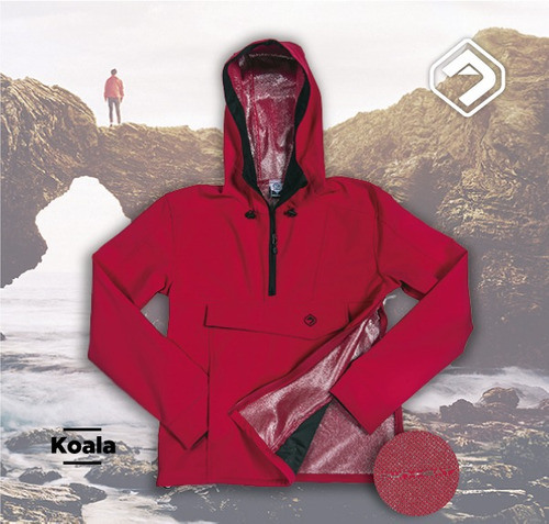campera libo koala own heat panel softshell + local belgrano
