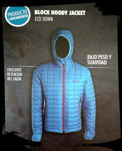 campera makalu mod. block jacket sin capucha e-nonstop