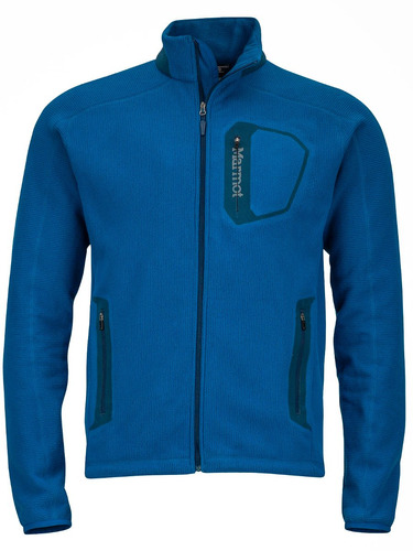campera marmot fleece hombre alpinist tech jacket