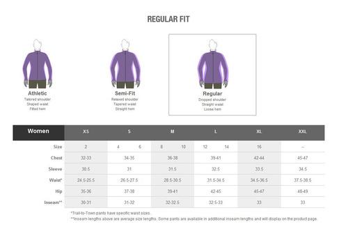 campera marmot mujer excel full 1/2 zip jacket
