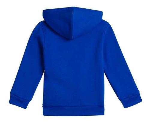 campera moda adidas polar con capucha niños