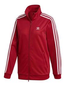 lo último 1c096 c0f55 Chaqueta Adidas Originals Roja - Ropa Deportiva de Mujer ...