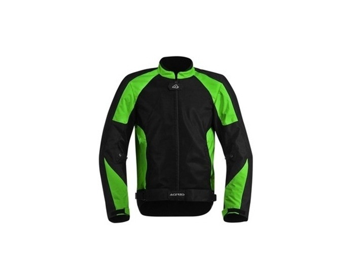2e6b4be8b4 Campera Moto Acerbis Ramsey My Vented Negra Verde Talle Xl -   9.176 ...