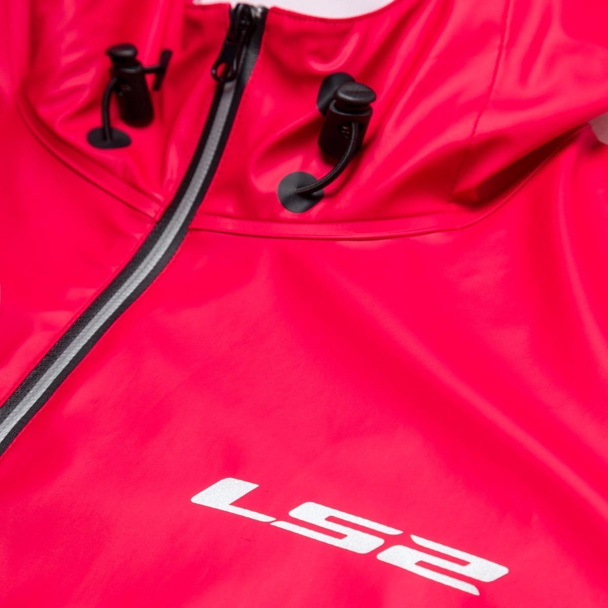 f0b02e2f campera moto impermeable ls2 termosellada storm roja yuhmak. Cargando zoom.