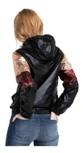 campera mujer black quenn jacket rusty