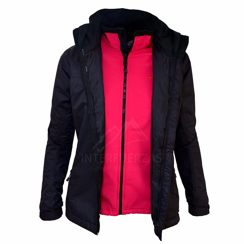 2 Erin Desmontable 899 X Mujer 3 1 Campera Montagne Impermeable tqx8wOO5T