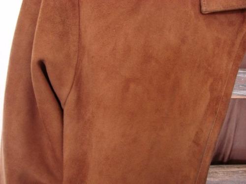 campera mujer gamuza cuero ropa marca rossi caruso buenisima