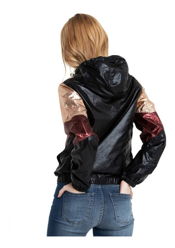 campera mujer rusty black queen