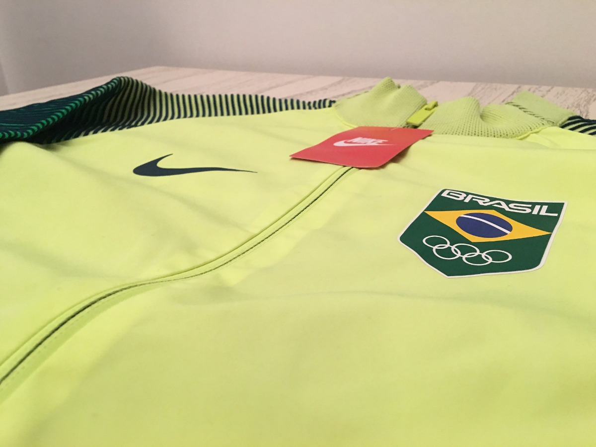dac42e4b2 campera nike brasil juegos olimpicos 2016 importada original. Cargando zoom.