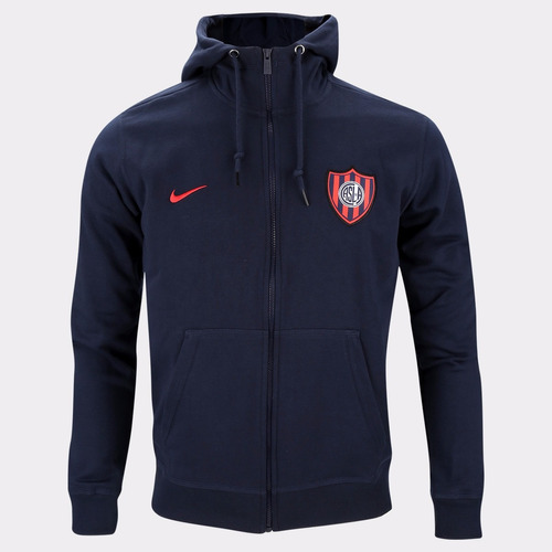campera nike de san lorenzo nsw fz ft authentic 2017