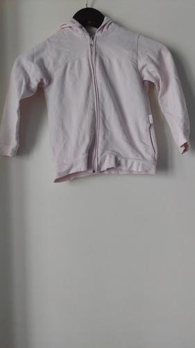 campera niña medio tiempo algodón rosa envíos mercadopagos