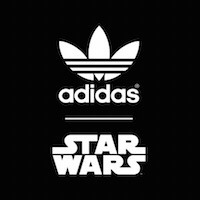 campera niño adidas original star wars talle:l traída de usa