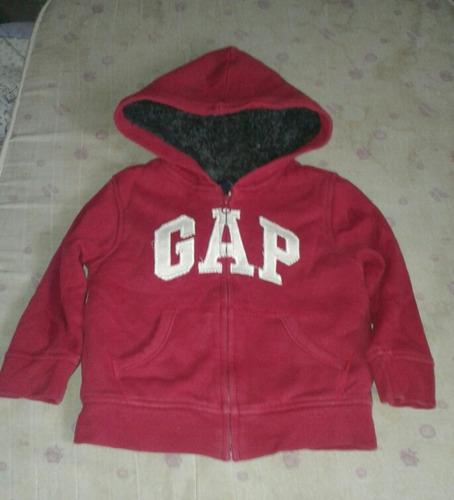 campera niño unisex con corderito gap